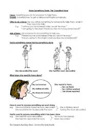 causative verbs have get make let exercises pdf