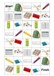 School Object Maze