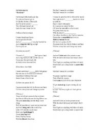 English Worksheets: Nickelback - �Rockstar� song exercises