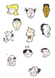 English Worksheets: face expresion