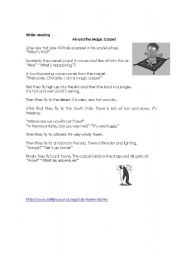 What´s the weather like in... ? Reading comprehension Part 2