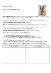 English Worksheets: Movie: Drillbit Taylor