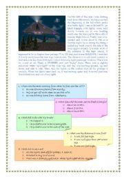English worksheet: UFOs