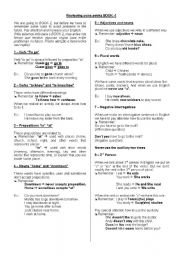 English Worksheets: To remember some points