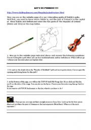 English Worksheet: Let�s go pubbing in Dublin