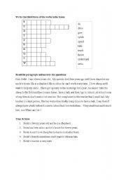 English worksheet: perfect tense