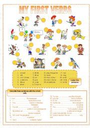 My first verbs