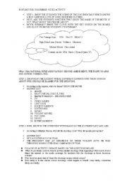 English Worksheet: BOWLING FOR COLUMBINE VIDEO/SPEAKING ACTIVITY