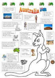 English Worksheet: Australia