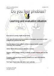 English Worksheet: do you fear phobias