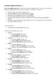 American English Reductions (1)