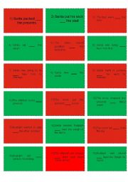 Rudolph Game Grammar Cards (2/3)