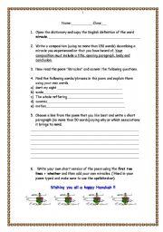 English Worksheets: Hannuka Activity