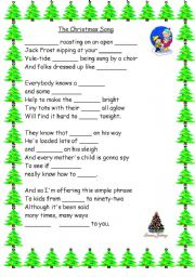English teaching worksheets: Christmas