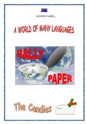 English Worksheets: KEY - RALLY PAPER