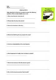 the book report from the black lagoon questions