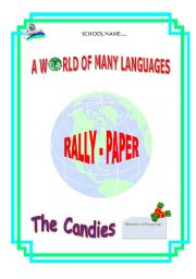 English Worksheets: RALLY PAPER to introduce the task