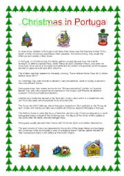 English Worksheet: Christmas in Portugal