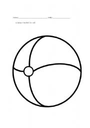 Pre-Primary toy worksheets