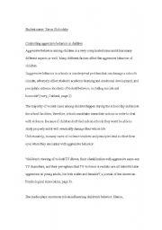 English Worksheets: Improving writing