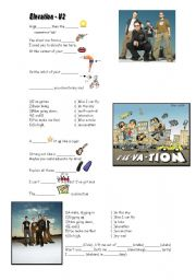 English Worksheets: Elevation - U2