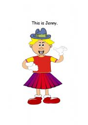 English Worksheets: What�s wrong with Jenny?