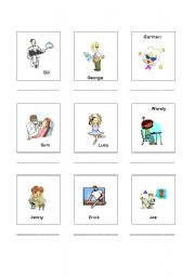 English Worksheets: Occupations 2 of 2