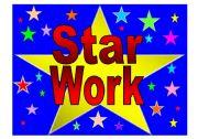English Worksheets: Star Work