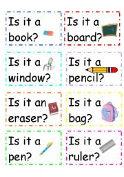 English Worksheets: Simple yes/no question cards