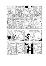 English Worksheets: Rugrats comics