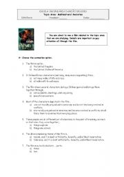 English Worksheets: Crash, the Film