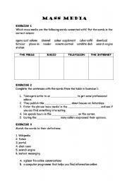 mass media worksheet View credit worksheets from 2009-2013 credit worksheets provide information  about required course work for the completion of simpson university majors.