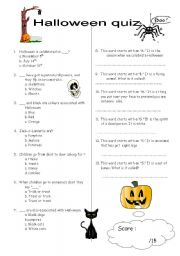 this - Halloween Trivia With Answers