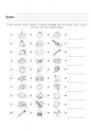 English teaching worksheets: Phonetics