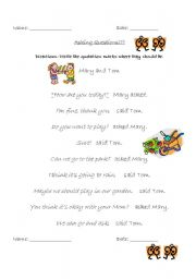 English Worksheet: Quotation Marks