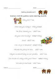 Speech marks homework