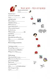 English Worksheets: Bon Jovi - Bed of Roses