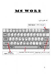 English Worksheets: keyboard