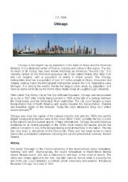 English Worksheet: CHICAGO