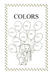 English Worksheet: Colors