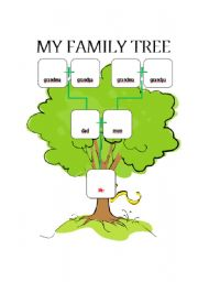 english worksheet family tree worksheet