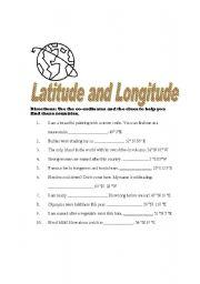 Printables Latitude And Longitude Worksheets 6th Grade longitude and latitude practice worksheets abitlikethis home gt tests longitude