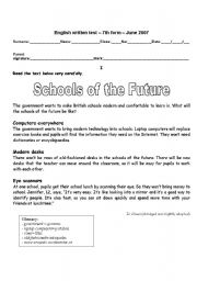 Schools of the future - 7th form