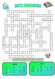 DATES CROSSWORD