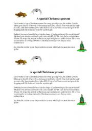 English Worksheets: reading Christmas!
