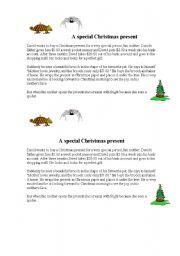 English Worksheet: reading Christmas!