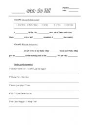 Worksheets Preamble Worksheet english teaching worksheets clozes cloze test