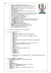 gerund and infinitive stop remember forget exercises pdf