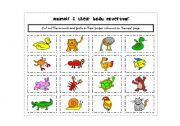 English Worksheet: ANIMALs & their body coverings
