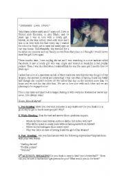 INTERNET LOVE STORY
